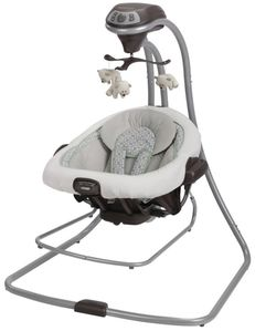 Graco DuetConnect LX Swing + Bouncer - Zander