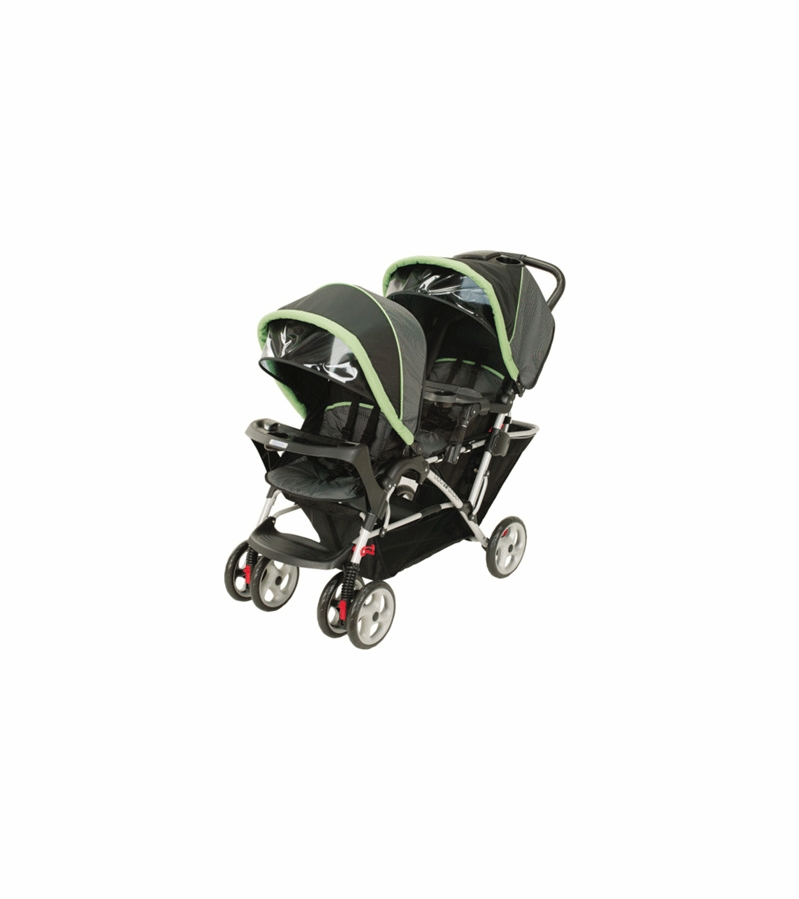Graco Duoglider Lx Stroller 7918grt3 In Green Tea