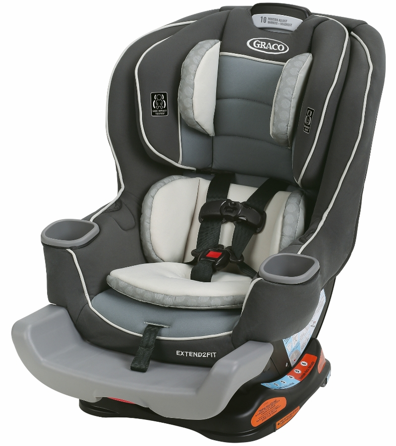 Graco Extend2Fit Convertible Car Seat Review My Traveling Baby