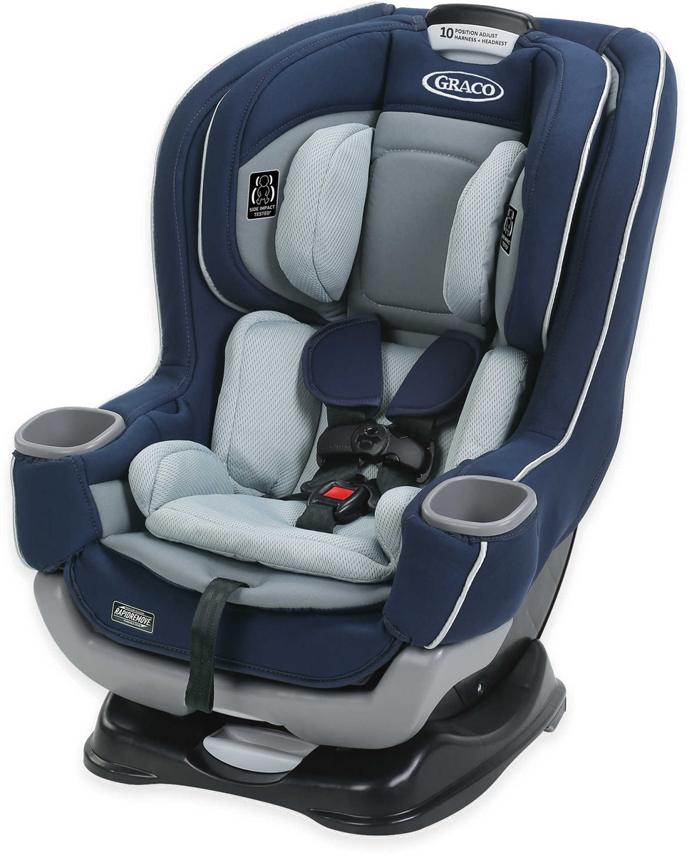 Graco Extend2Fit Convertible Car Seat featuring ...