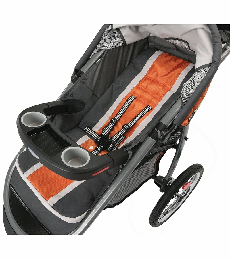 Graco FastAction Fold Click Connect Jogging Stroller ...