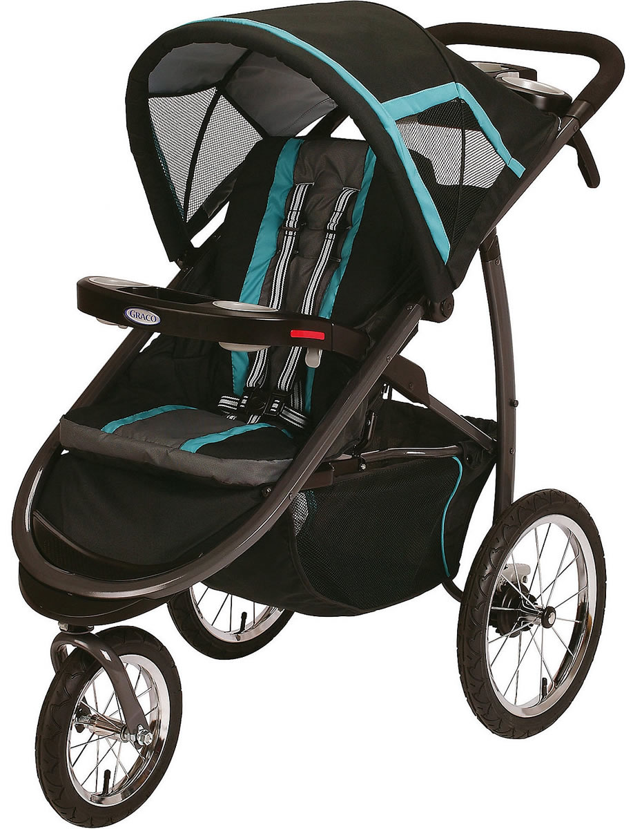 Graco Fastaction Fold Jogger Click Connect Stroller Tidalwave