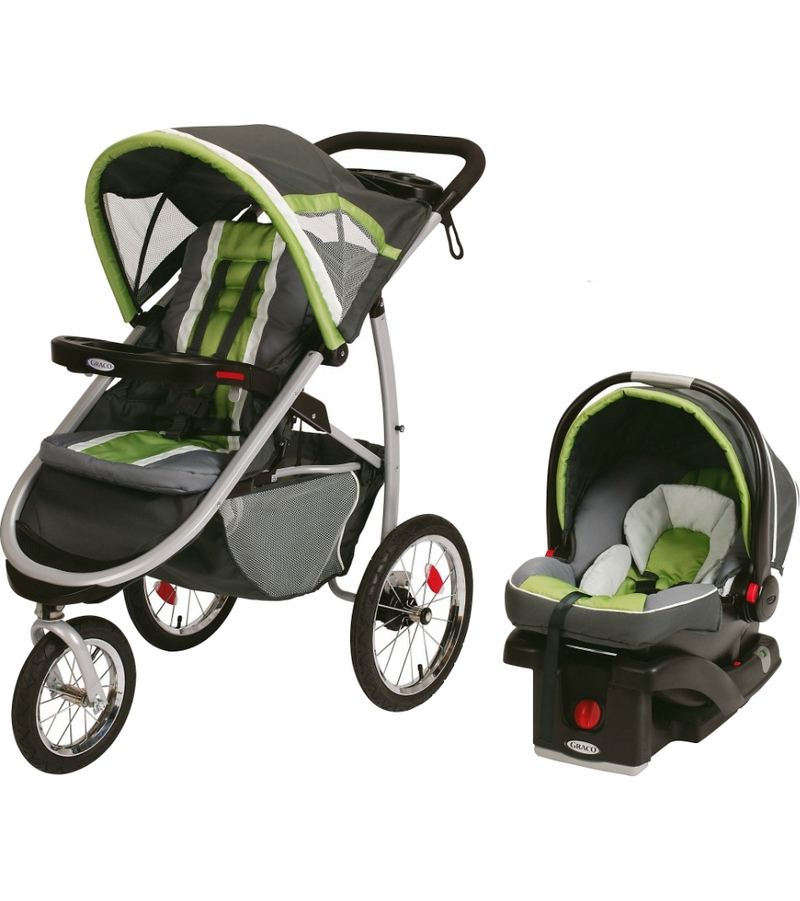 Graco Fastaction Fold Jogger Click Connect Travel System Piazza