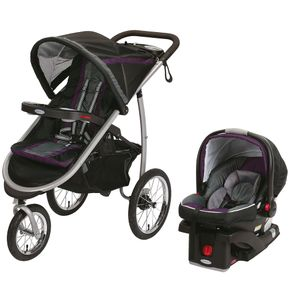 Graco FastAction Fold Jogger Click Connect Travel System - Stella