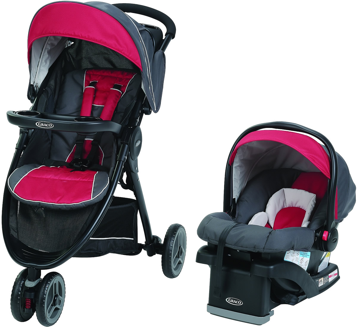 Graco FastAction Fold Sport LX Click Connect Travel Syste...