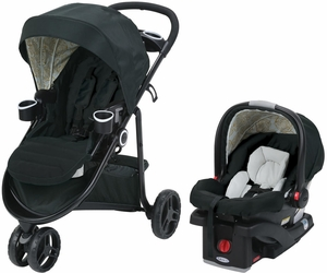 Graco Modes 3 Lite Click Connect Travel System - Bloom