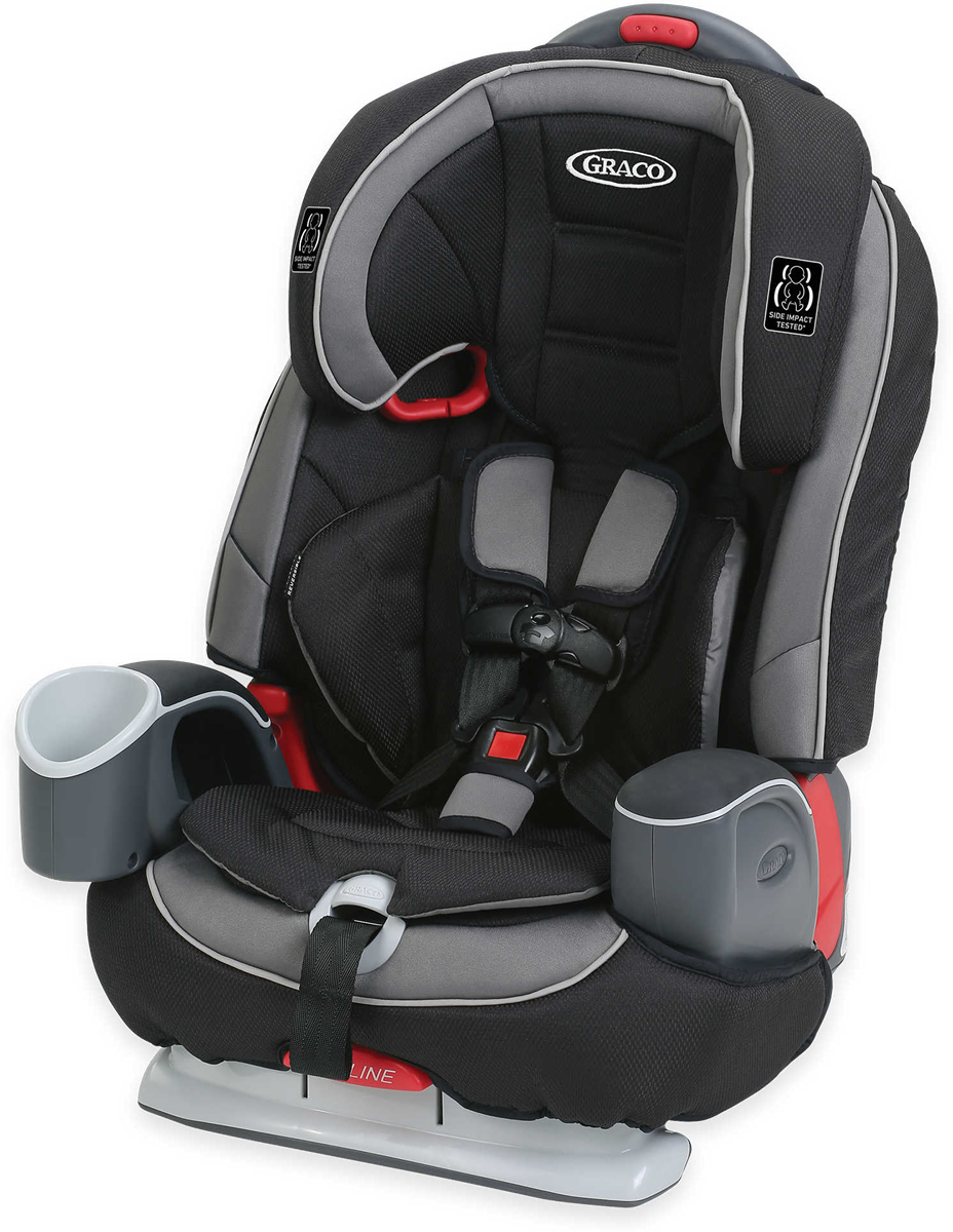Graco Nautilus 65 DLX 3-in-1 Harness Booster Car Seat - G...
