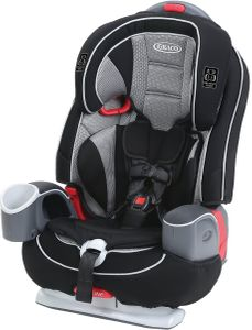 Graco Nautilus 65 LX 3-in-1 Harness Booster Car Seat - Matrix
