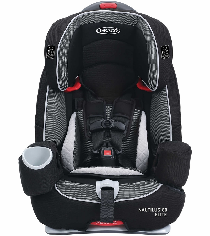 Graco Nautilus 80 Elite 3 In 1 Harness Booster Car Seat