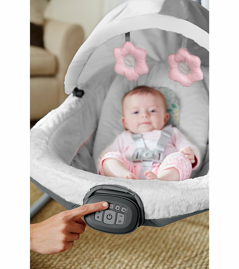 Graco Oasis Swing Soothe Surround Technology Tasha