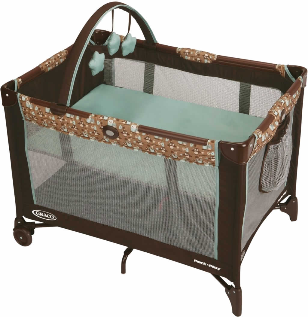 Graco Pack /'n Play On the Go Playard//Playpen with Bassinet//Napper Travel Stratus