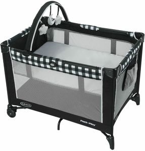 Graco Pack ?n Play On the Go Playard with Folding Bassinet - Kagen