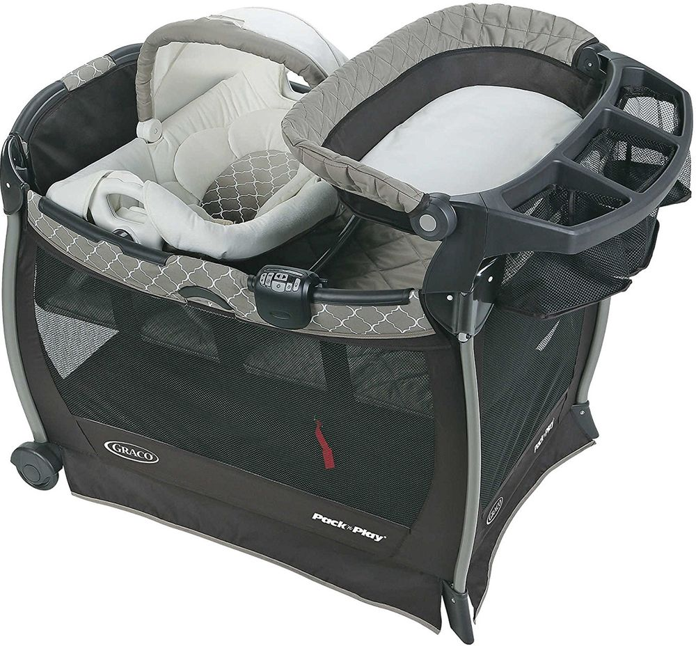 New Graco Pack /'n Play Playard Cuddle Cove with Vibrating Baby Seat