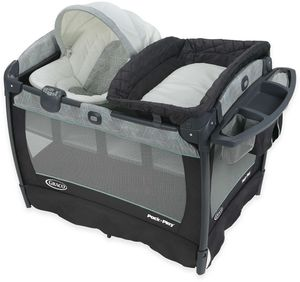 Graco Pack 'n Play Playard Newborn Napper Oasis with Soothe Surround Technology - Camden