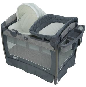 Graco Pack 'n Play Playard Newborn Napper Oasis with Soothe Surround Technology - Davis