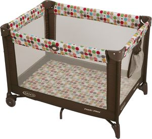 Graco Pack 'n Play Playard with Automatic Folding Feet - Animal Friends