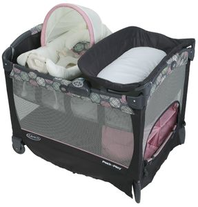 Graco Pack 'n Play Playard with Cuddle Cove Removable Seat - Addison