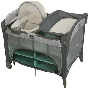 Graco Pack 'n Play Playard with Newborn Napper Station DLX - Manor