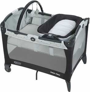 Graco Pack 'n Play Portable Reversible Napper & Changer Playard - Asteroid