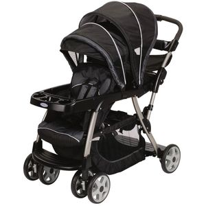 graco ready to grow stand and ride duo stroller metropolis 33