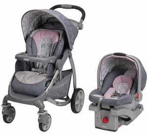 Graco Stylus Click Connect Travel System - Kendra