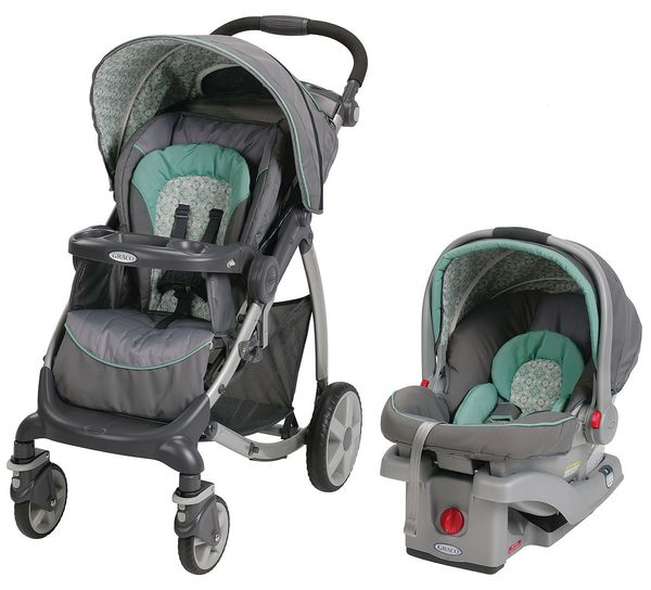 Graco Stylus Travel System with SnugRide Click Connect 30 - Winslet
