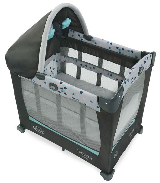 Graco Travel Lite Crib with Stages - Lauren