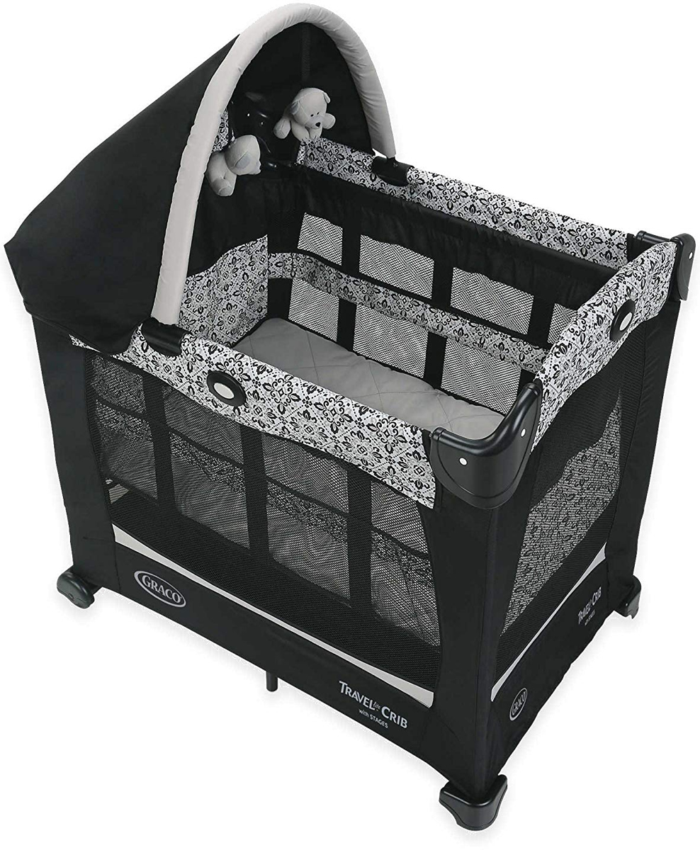 Graco Travel Lite Crib with Stages - Sutton