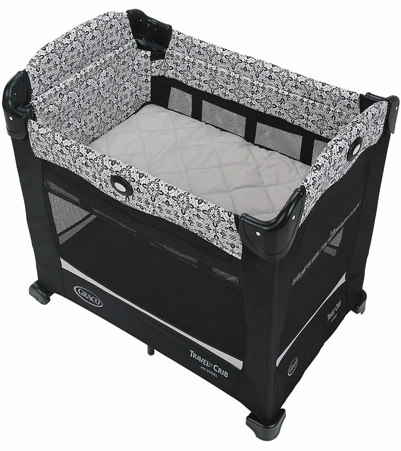 Graco Travel Lite Crib With Stages Sutton