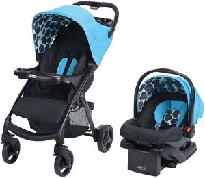 Graco Verb Click Connect Travel System - Motif