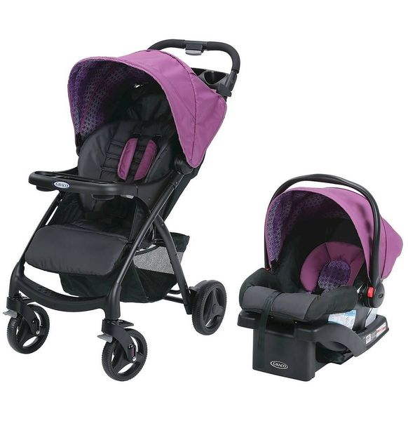 Graco Verb Click Connect Travel System - Turner