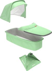 Greentom Carrycot Fabric & Mattress Set - Mint