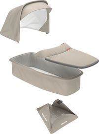 Greentom Carrycot Fabric & Mattress Set - Sand