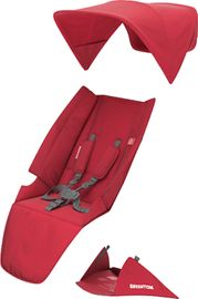 Greentom Classic Seat Fabric Set - Red