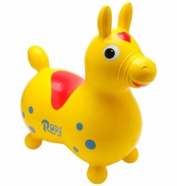 Gymnic Rody Inflatable Hopping Horse - Yellow