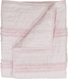 Hello Spud Quilt - Petite Ruffle Pink