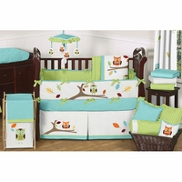 Hooty Turquoise & Lime Collection