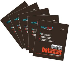 Innobaby Aquaheat HOT Heat Packs, 5-Pack