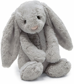 Jellycat Bashful Bunny Grey, 20""