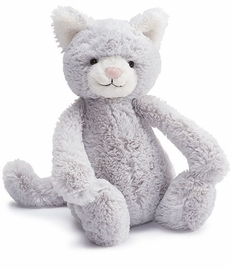 Jellycat Bashful Kitty Grey, 12""