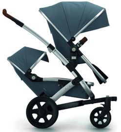 Joolz Geo 2 Earth Twin Stroller - Hippo Grey