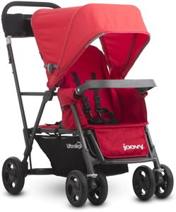 Joovy Caboose Ultralight Graphite Stroller - Red