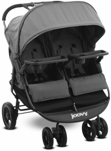 Joovy Scooter X2 Double Stroller with Tray - Charcoal
