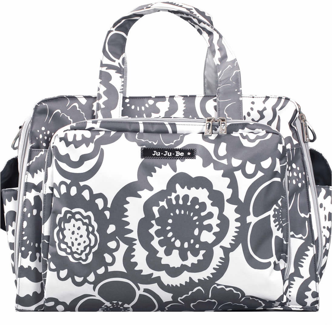 Ju Be Prepared Diaper Bag Frosted Blossoms