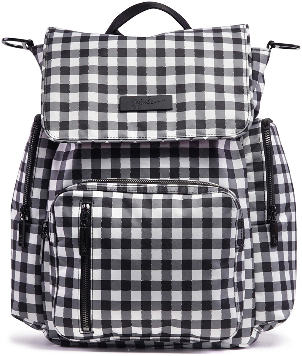 Ju Be Sporty 3 Way Diaper Bag Gingham Style