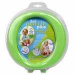 Kalencom Potette Plus 2 in 1 On The Go Potty in Green