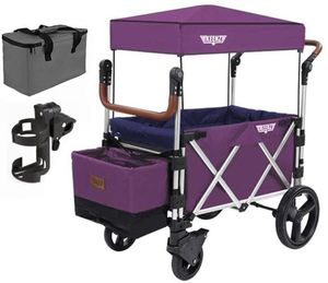 Keenz 7S Stroller Wagon - Purple