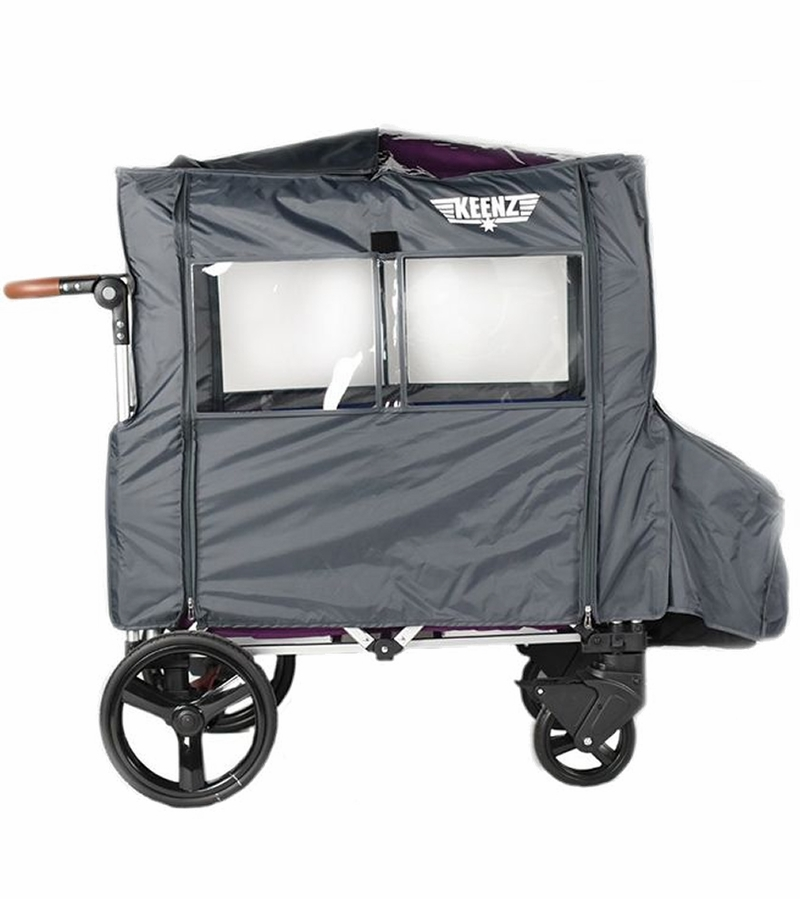 Keenz Wagon Wind Cover Gray Color