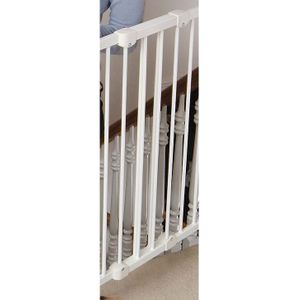 """Kidco 10 """" Extension for Angle-Mount Safeway Gate in White"""