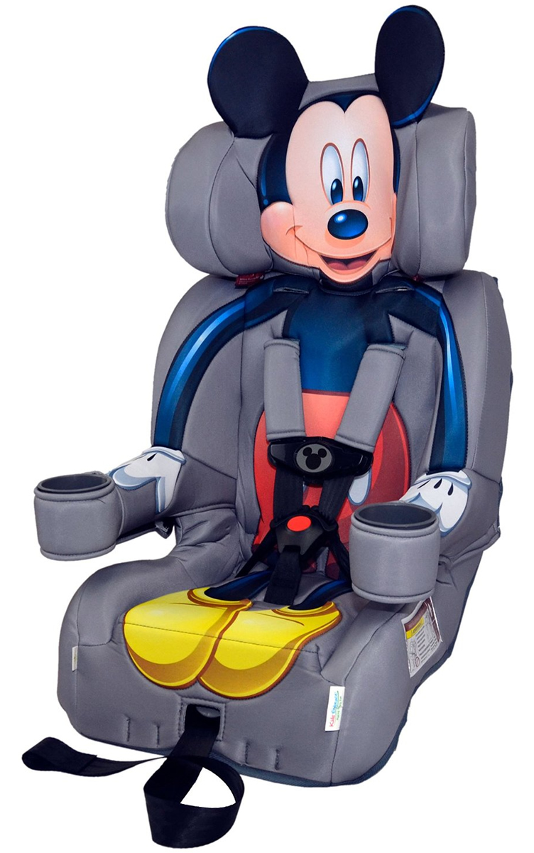 KidsEmbrace Harness Booster Car Seat - Mickey Mouse